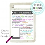 <h5>About My Grandpa: Fill-in-the-Blank Father's Day or Birthday or Grandparents Day Gift for Grandpa</h5>