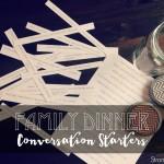 102 Family dinner conversation starters