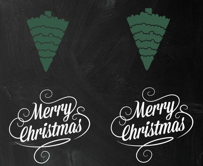 christmas card printable for homeless bag