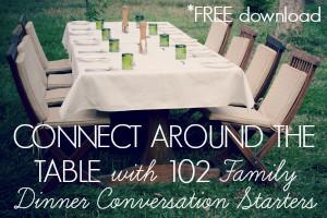 free dinner conversation starters