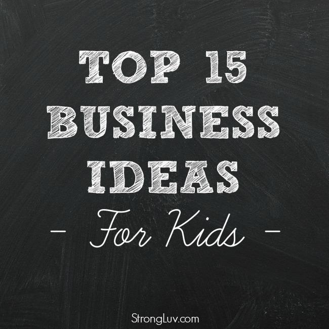 best ways for kids to make money